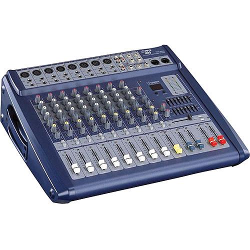 Pyle Pro PMX808 - 600 Watt 8-Channel Powered PA Mixer/Amplifier