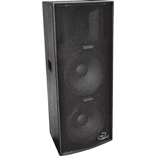 Pyle Pro PPAD102 Dual 10'' Heavy Duty 3-Way Speaker Cabinet