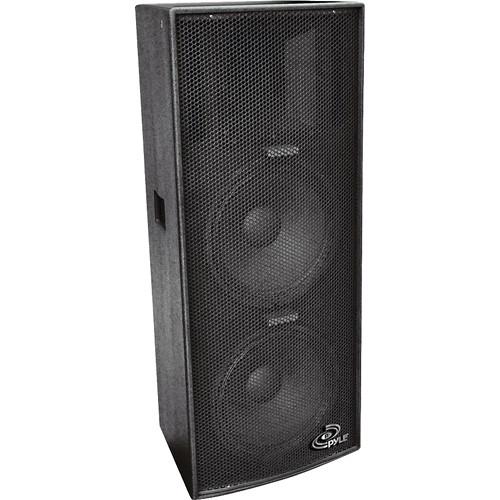 Pyle Pro PPAD122 Dual 12'' Heavy Duty 3-Way Speaker Cabinet