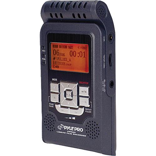Pyle Pro PPR80 Linear PCM Portable Digital Audio Recorder