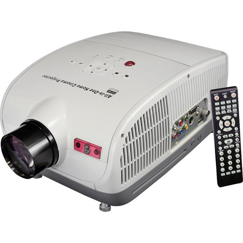 Pyle Pro PRJSD188 Video Projector w/ DVD Media Player