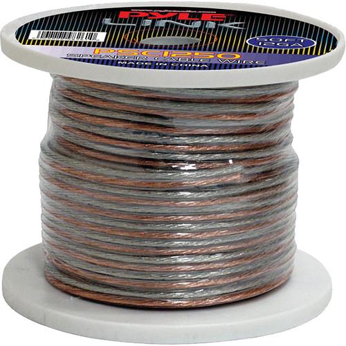 Pyle Pro PSC1250 12-Gauge High-Quality Speaker Zip Wire (50' Spool)