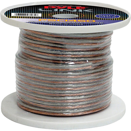 Pyle Pro PSC1450 14-Gauge High-Quality Speaker Zip Wire (50' Spool)