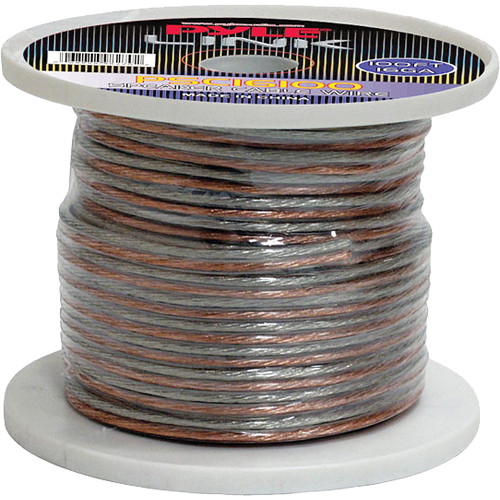 Pyle Pro PSC16100 16-Gauge High-Quality Speaker Zip Wire (100' Spool)