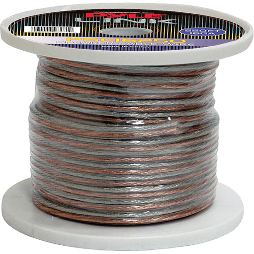 Pyle Pro PSC16250 16-Gauge High-Quality Speaker Zip Wire (250' Spool)