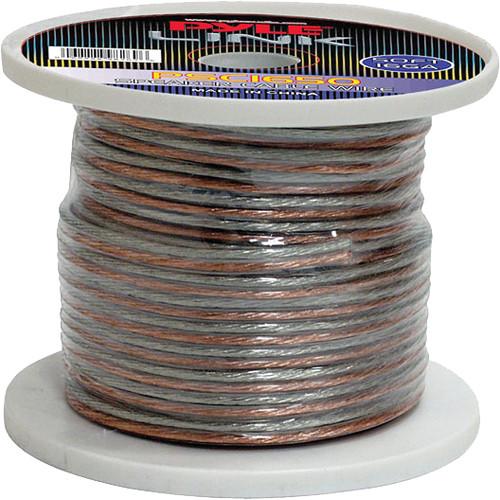 Pyle Pro PSC1650 16-Gauge High-Quality Speaker Zip Wire (50' Spool)