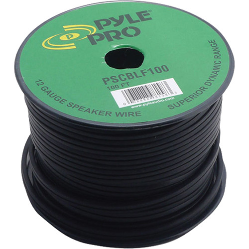 Pyle Pro PSCBLF100 12AWG Bulk Speaker Cable (100')