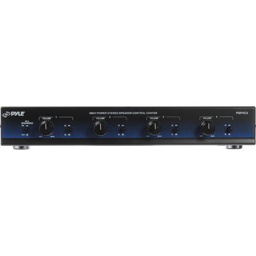 Pyle Pro PSPVC4 4-Channel High Power Speaker Selector