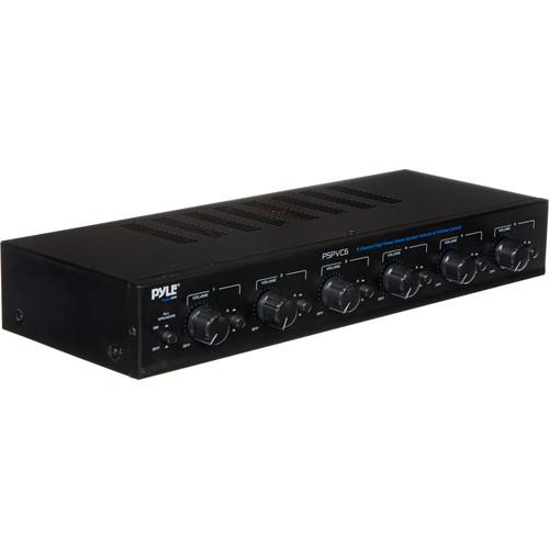 Pyle Pro PSPVC6 6-Channel High Power Speaker Selector