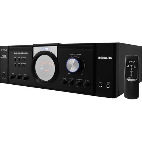 Pyle Pro PT1100  1000W x 2 @ 8ohms (Peak) Power Amplifier