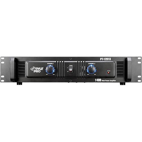 Pyle Pro PT-1201X Stereo DJ Power Amplifier (700W/Channel @ 8 Ohms)