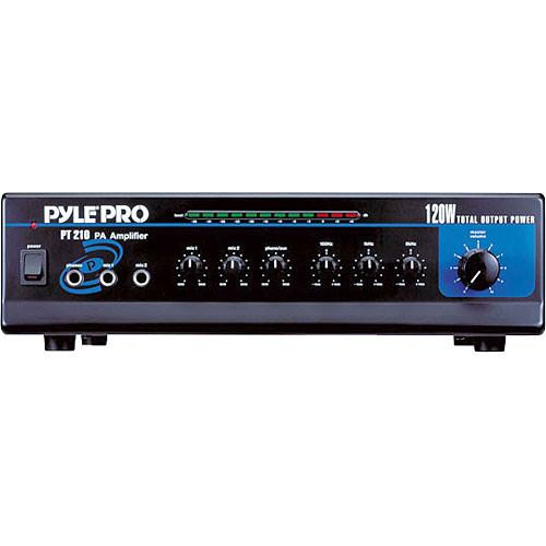 Pyle Pro PT210 120W PA Mixer/Amplifier