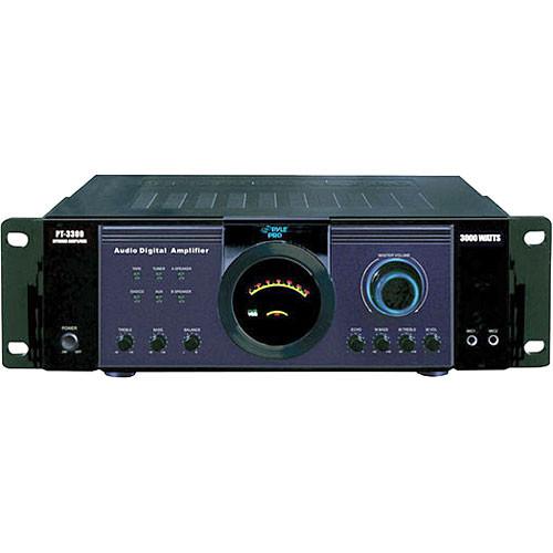 Pyle Pro PT3300  300W x 2 @ 8ohms Power Amplifier