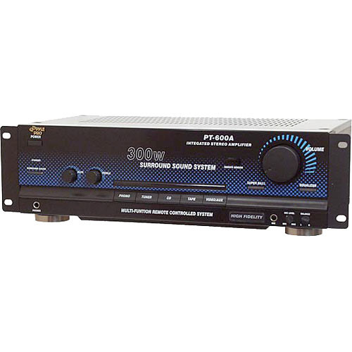 Pyle Pro PT600A 300W Integrated Stereo Amplifier