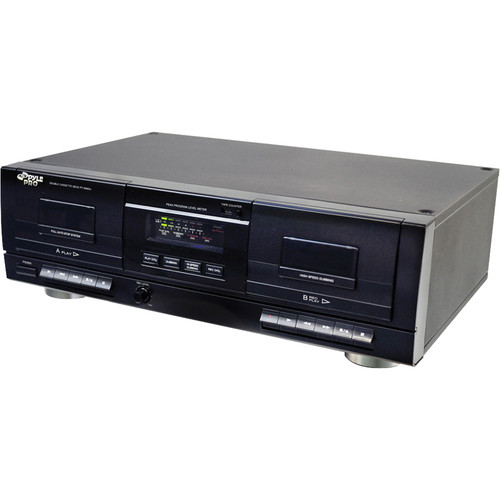 Pyle Pro Dual Cassette Deck with MP3 Converter