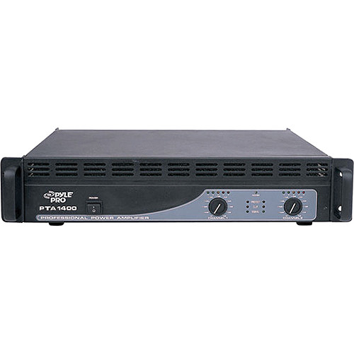 Pyle Pro PTA1400 Professional Stereo Power Amplifier (350W/Channel @ 8 Ohms)