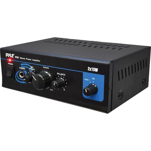 Pyle Pro PTA1 30W Stereo Power Amplifier