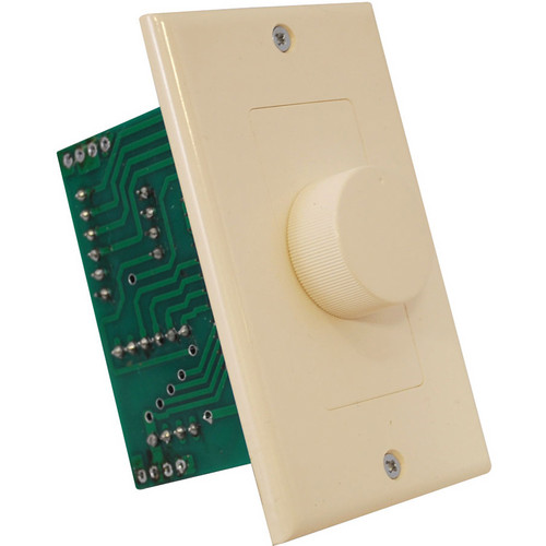 Pyle Pro Wall Mount Rotary Volume Knob (3 Color Wall Plate)