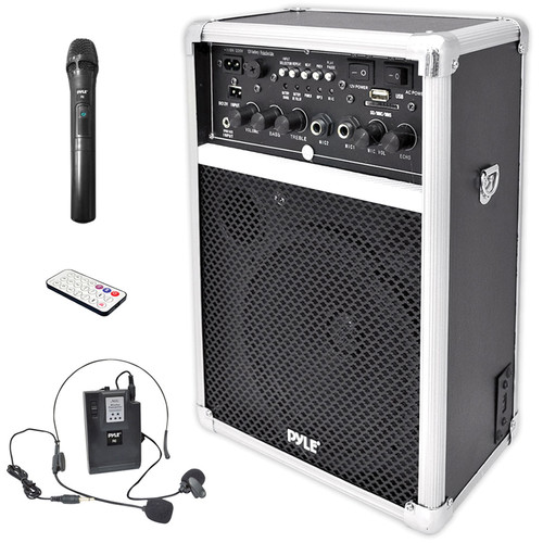 Pyle Pro PWMA170 Dual Channel 400W Wireless PA System