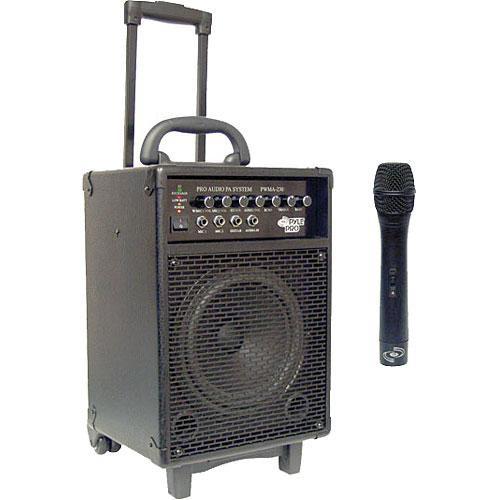 Pyle Pro PWMA230 200W VHF Wireless Battery Powered PA System