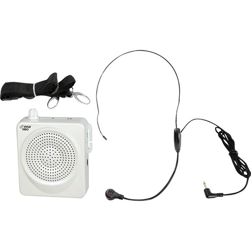 Pyle Pro PWMA50 Waistband Portable PA System (White)
