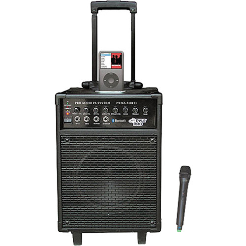 Pyle Pro PWMA940BTI Portable PA System with Wireless Microphone