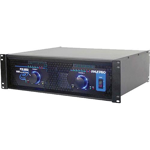 Pyle Pro PZR50XA Professional DJ Power Amplifier (2750W/Channel @ 8 Ohms)