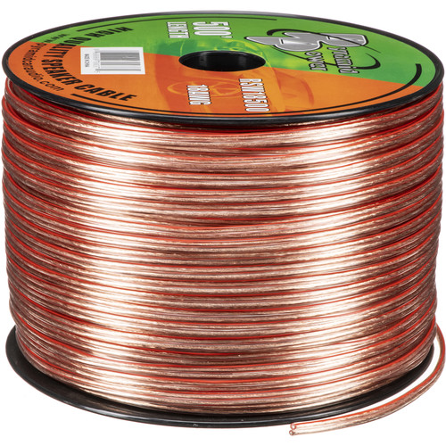 Pyramid High Quality 18 Gauge Speaker Zip Wire (500' Spool)