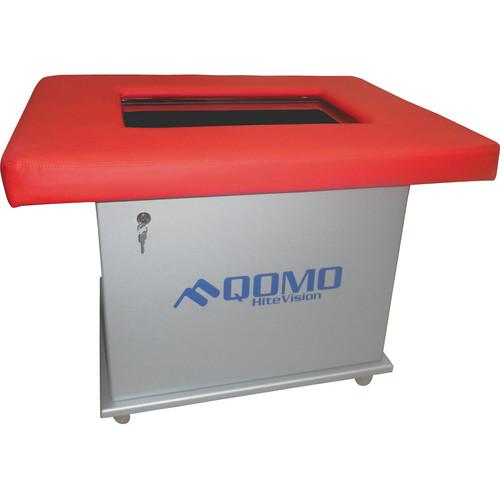 "QOMO QIT2022-KZ-LR 22"" Interactive KidzBoard (Red)"