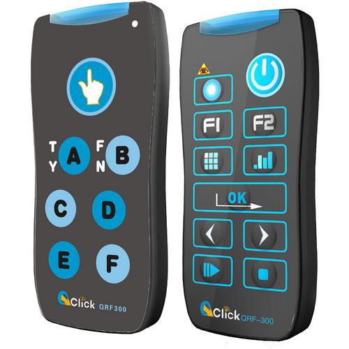QOMO HiteVision QRF300 B QPAD 3RF-6 Classic Pack (6) RF Audience Response System