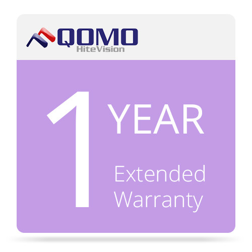 QOMO QVW01 1-Year Extended Warranty for Visual Presenter