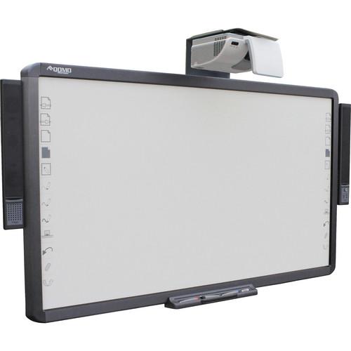 QOMO HiteVision QWB100WS-PS-H-COMBO Interactive Whiteboard w/ Vivitek Projector (D791ST)