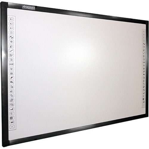 "QOMO HiteVision QWB200EM 88"" Diagonal Interactive EM Whiteboard"