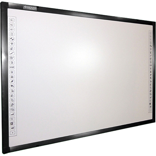 "QOMO QWB300EM 88"" Diagonal Interactive EM Whiteboard"