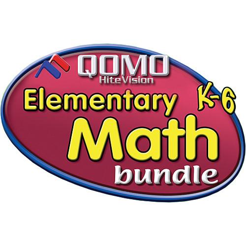 QOMO HiteVision Tool Factory Elementary Math K-6 Bundle