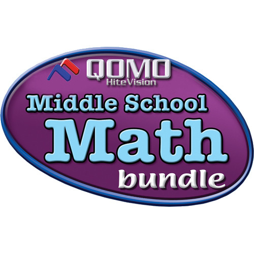 QOMO HiteVision Tool Factory Middle School Math Bundle