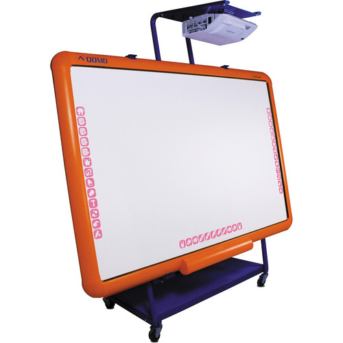 "QOMO HiteVision QWBKB100C 70"" Interactive Whiteboard with Moveable Stand"