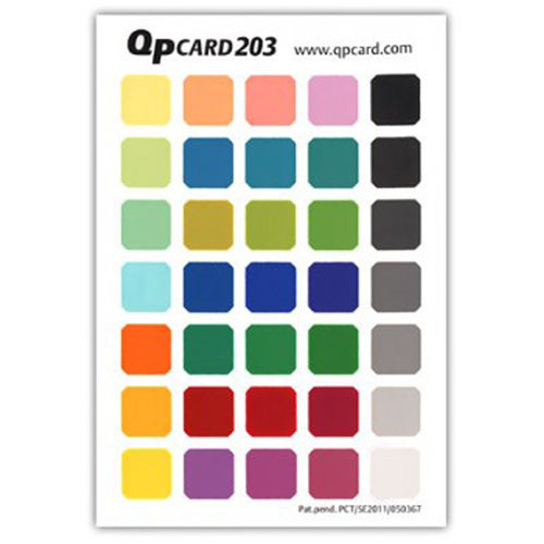 QP Card QP Color Reference Card 203 Book