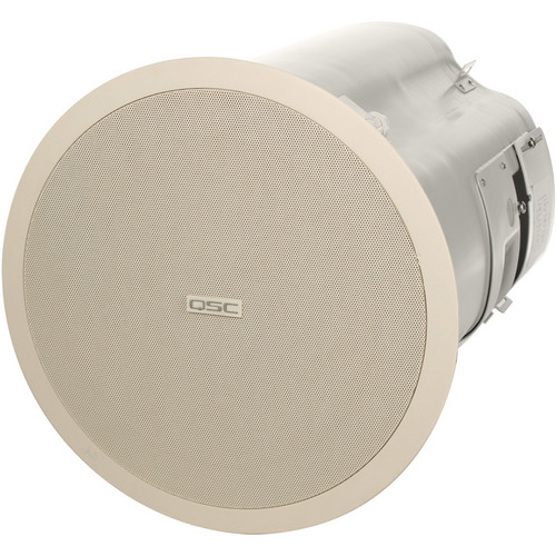 QSC AD-C81TW Ceiling Mount Subwoofer System (White)