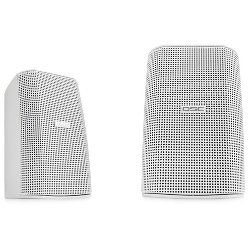 QSC AD-S32T AcousticDesign Surface Mount Speakers (Pair, White)