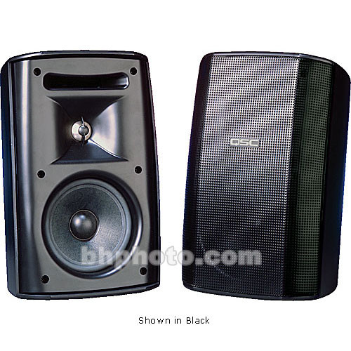 "QSC ADS52 5.25"" 2-Way Loudspeaker Pair (White)"