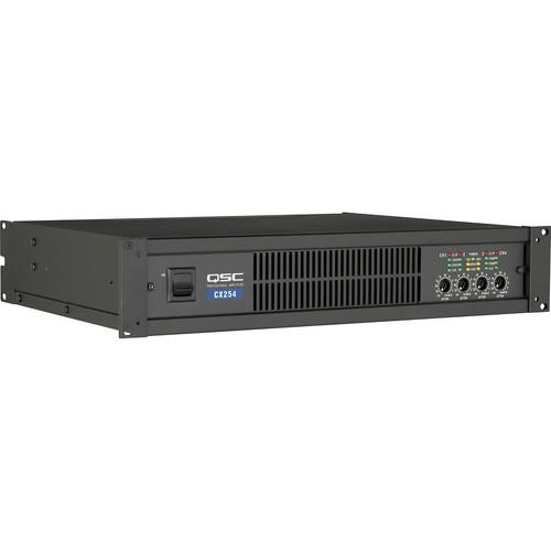 QSC CX254 Four Channel Power Amplifier