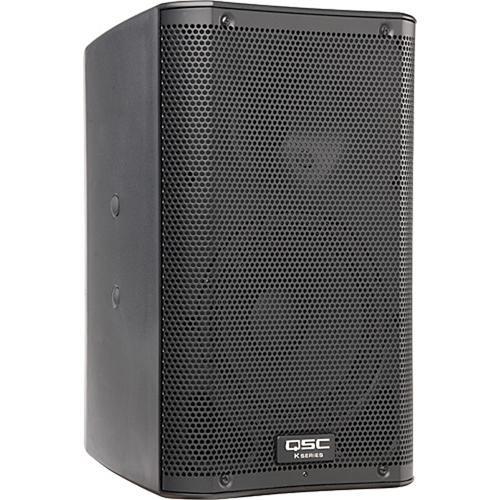 "QSC K8 8"" 2-Way 1000 Watt Powered Speaker Kit with Stand"
