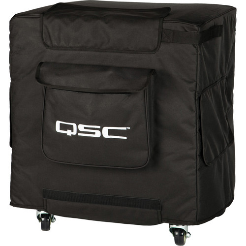 QSC KW181 Soft Speaker Cover with Grille Guard
