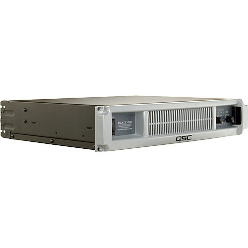 QSC PLX-3102 - Stereo Power Amplifier - 600W per Channel into 8 Ohms