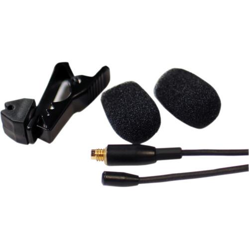 Que Audio DA04 Lavalier Microphone (Black)