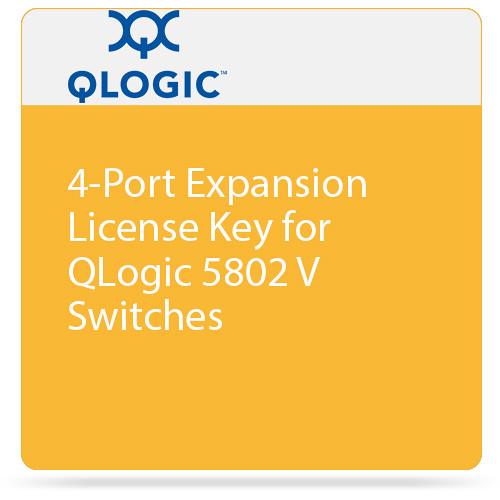 Q-Logic 4-Port Expansion License Key for QLogic 5802 V Switches