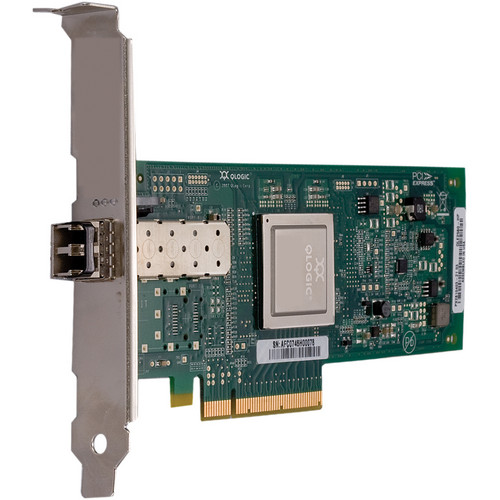 Q-Logic 8200 Series Single Port 10 Gbps Ethernet to PCIe CNA with Transceiver