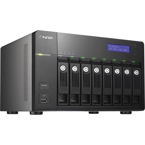QNAP TS-869 Pro Turbo NAS Server