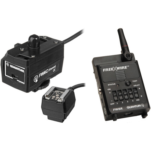 Quantum Instruments QLINK for Canon with FreeXwire Receiver Kit